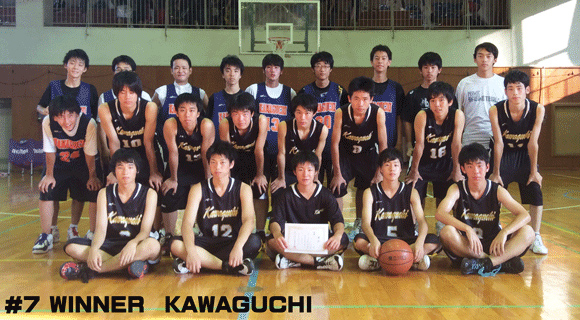 #7 WINNER KAWAGUCHI