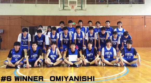 #6 WINNER OMIYANISHI