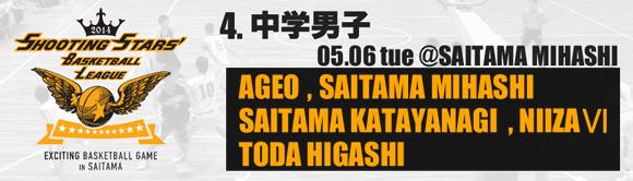 4. 中学男子 05/06(火)