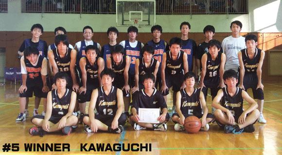 #5 WINNER KAWAGUCHI