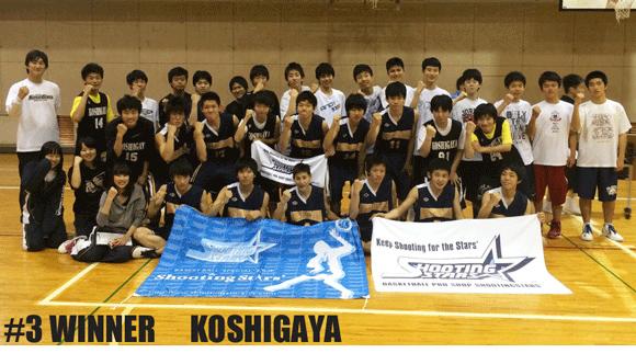 #3 WINNER KOSHIGAYA