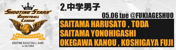 2. 中学男子 05/06(火)
